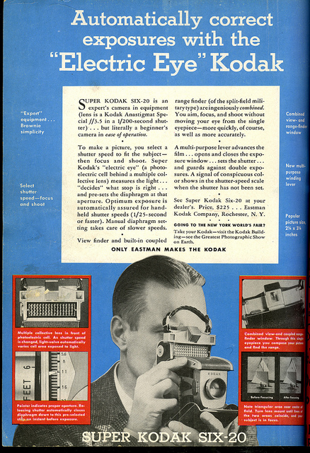 1940 Ad: Kodak Super Six-20